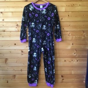 ⬇️💰👧🏻 Girls fleece Star Wars onesie